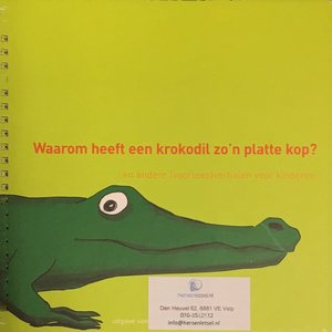 Waarom heeft een krokodil zo'n platte kop?