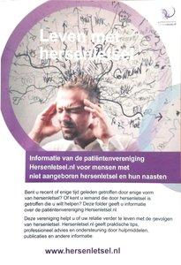 Algemene folder over hersenletsel en de vereniging